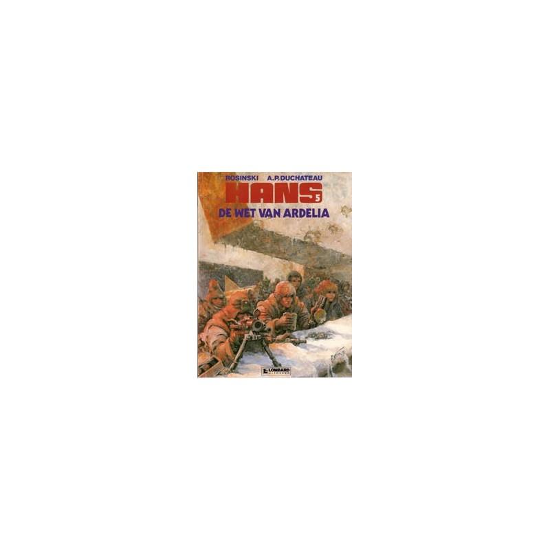 Hans 05 De wet van Ardelia 1e druk 1990