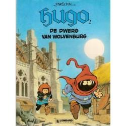 Hugo 02<br>De dwerg van wolvenburg<br>1e druk 1987