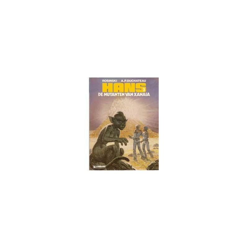 Hans 03 De mutanten van Xanaia herdruk oorspronkelijk omslag
