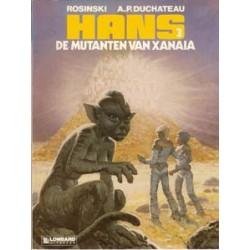 Hans<br>03 - De mutanten van Xanaia<br>1e druk 1986