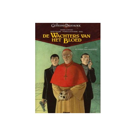 Geheime driehoek Wachters van het bloed 01 HC De schedel van Cagliostro