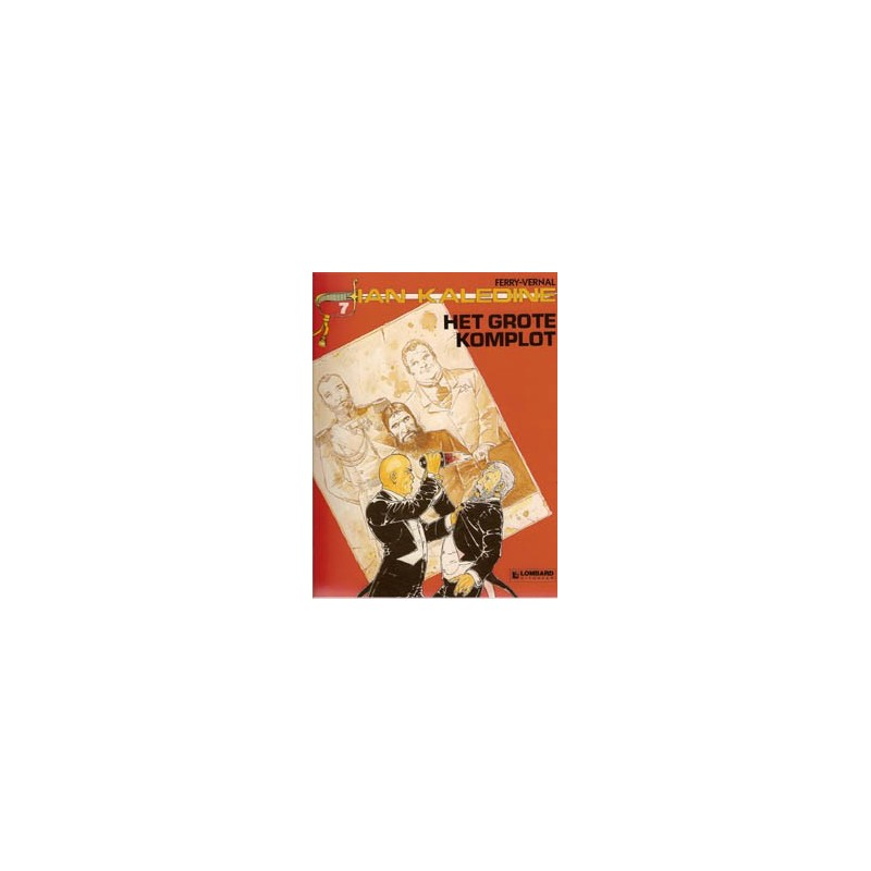 Ian Kaledine 07 Het grote komplot 1e druk 1988