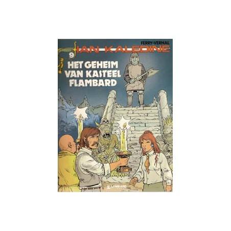 Ian Kaledine 09 Het geheim van kasteel Flambard 1e druk