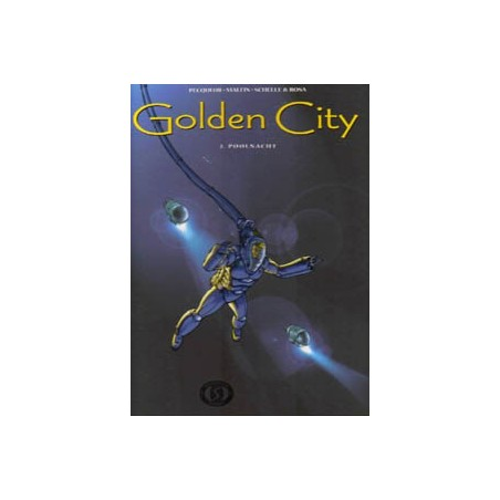 Golden City 03 HC<br>Poolnacht