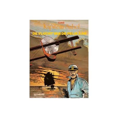 kapitein Sabel 01<br>De vlucht van de pelikaan<br>1e druk 1983