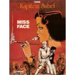 Kapitein Sabel 02<br>Miss Face<br>1e druk 1983