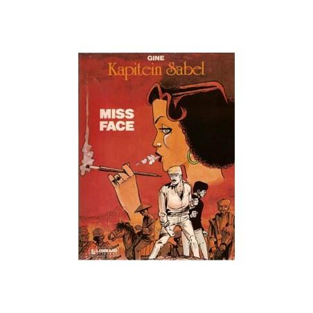 Kapitein Sabel 02 Miss Face 1e druk 1983