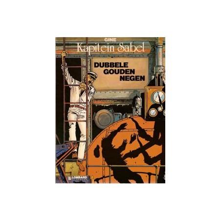 Kapitein Sabel 03 Dubbele gouden negen 1e druk 1984