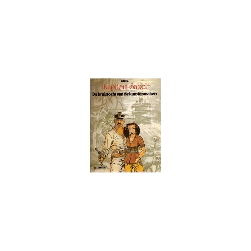Kapitein Sabel 04 Kruistocht van de kunstenmakers 1e druk