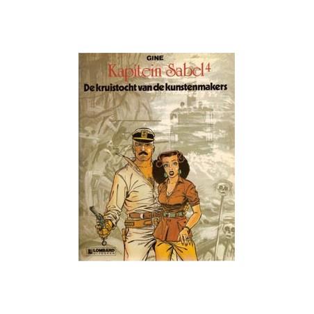 Kapitein Sabel 04<br>Kruistocht van de kunstenmakers<br>1e druk