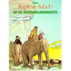 Kapitein Sabel 07<br>Op de mandarijnenroute<br>1e druk 1989
