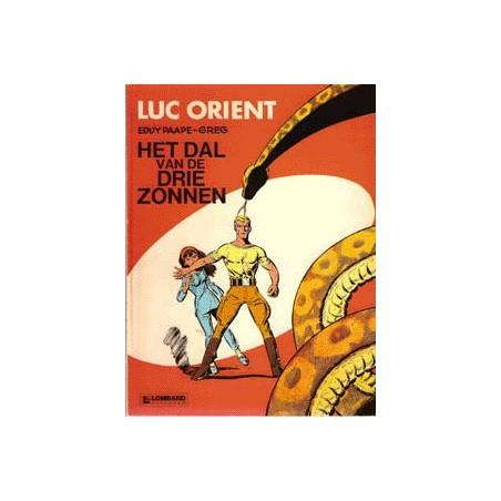 Luc Orient setje deel 1 t/m 18 1e drukken & herdrukken
