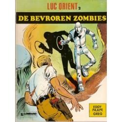 Luc Orient 02<br>De bevroren zombies<br>herdruk