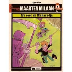 Maarten Milaan 01<br>IJs voor de Maharadja<br>1e druk 1978