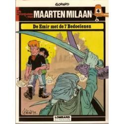 Maarten Milaan 04<br>De emir met de 7 bedoeienen<br>herdruk 1980