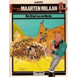Maarten Milaan 05<br>Het kind van de horde<br>1e druk 1981