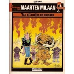 Maarten Milaan 08<br>Van eilandjes en mensen<br>herdruk 1983