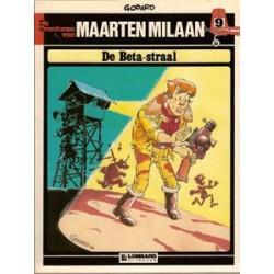 Maarten Milaan 09<br>De Beta-straal<br>herdruk 1984