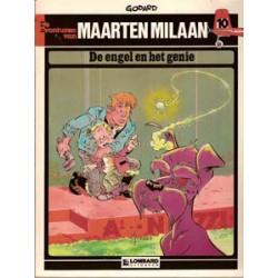 Maarten Milaan 10<br>De engel en het genie<br>1e druk 1985