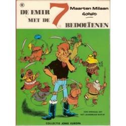Maarten Milaan<br>Emir + 7 bedoeïenen<br>Jong Europa<br>1e druk