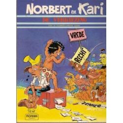 Norbert en Kari setje<br>Deel 1 t/m 5<br>1e drukken 1981-1990