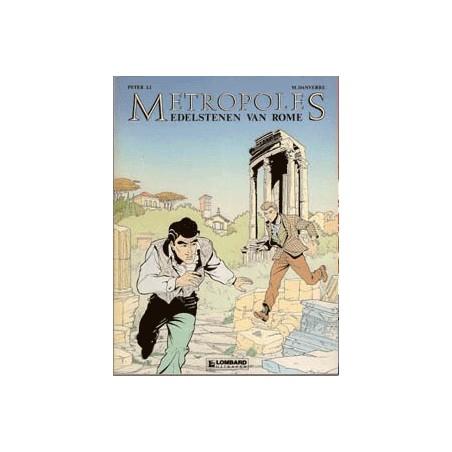 Metropoles setje deel 1 t/m 3 1e drukken 1989-1991