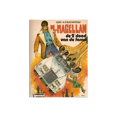 Mr. Magellan 01 De 2de dood van de farao 1e druk 1981