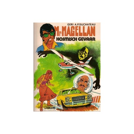Mr. Magellan 02 Kosmisch gevaar 1e druk 1981