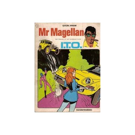 Mr. Magellan set Favorietenreeks 5 delen 1e drukken