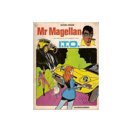 Mr. Magellan I.T.O Favorietenreeks 2.4 1e druk 1970