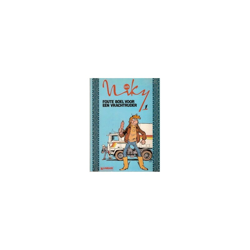 Niky setje deel 1 t/m 3 1e drukken 1985-1988