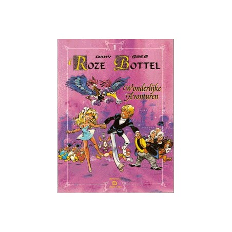 Roze Bottel  setje Wonderland deel 1 t/m 11 herdrukken