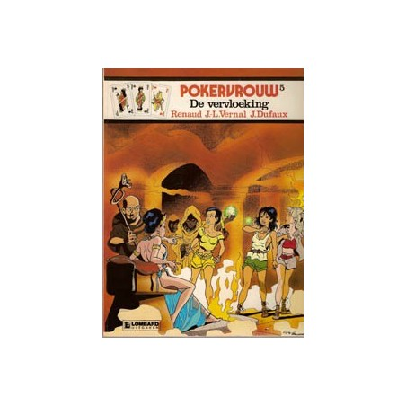 Pokervrouw 05 De vervloeking 1e druk 1986