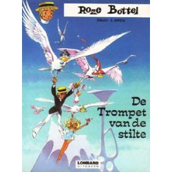 Roze Bottel 08<br>De trompet van de stilte<br>1e druk 1978