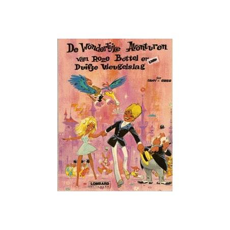 Roze Bottel  setje deel 1 t/m 11 1e drukken & herdrukken