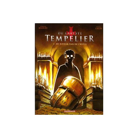 Laatste tempelier 02 De ridders van de crypte 1e druk 2010