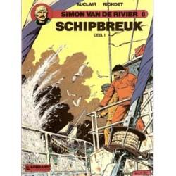 Simon van de Rivier 08 Schipbreuk deel 1 1e druk 1989
