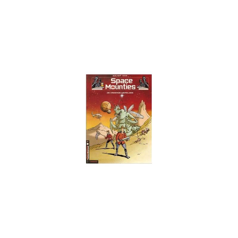 Space Mounties setje Deel 1 & 2 1e drukken 2001-2002