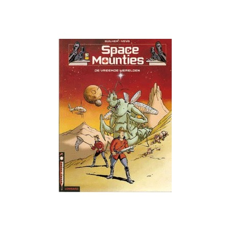 Space Mounties setje Deel 1 & 2 1e drukken 2001-2002