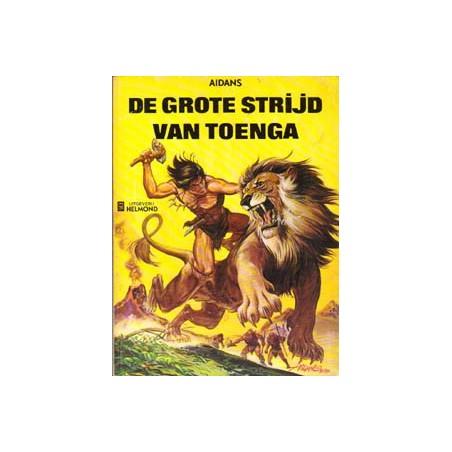 Toenga 02 De grote strijd van Toenga herdruk 1975