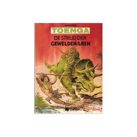 Toenga 06% De strijd der geweldenaren 1e druk Helmond 1977