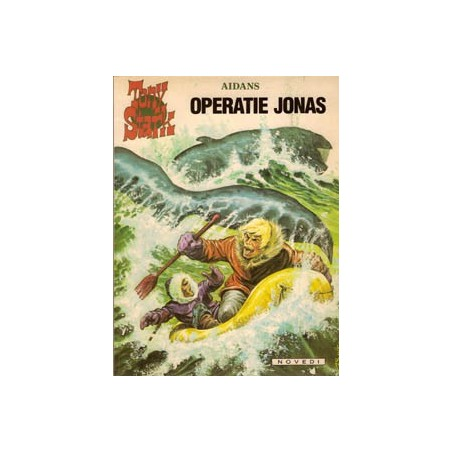 Tony Stark 05 Operatie Jonas 1e druk 1981