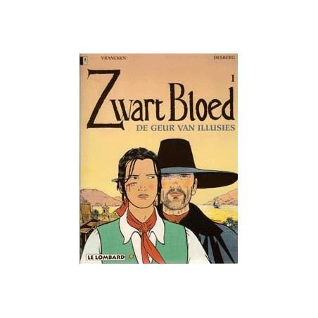 Zwart bloed setje deel 1 t/m 4 1e drukken 1996-1998