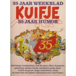 Weekblad Kuifje 35 Jaar  HC 35 Jaar humor 1e druk 1981