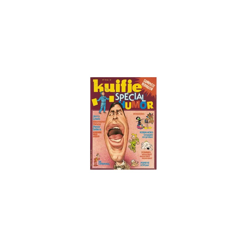 Super Kuifje 04 Humor (14bis) 1e druk 1979
