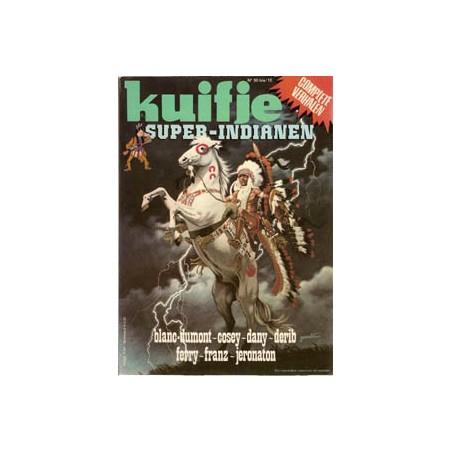 Super Kuifje 15 Indianen (50bis) 1e druk 1981