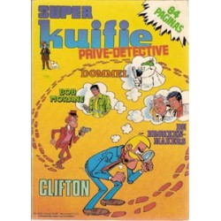 Super Kuifje 25 Prive-detective (25bis) 1e druk 1984