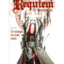 Requiem de vampierridder 08<br>De koningin der dode zielen