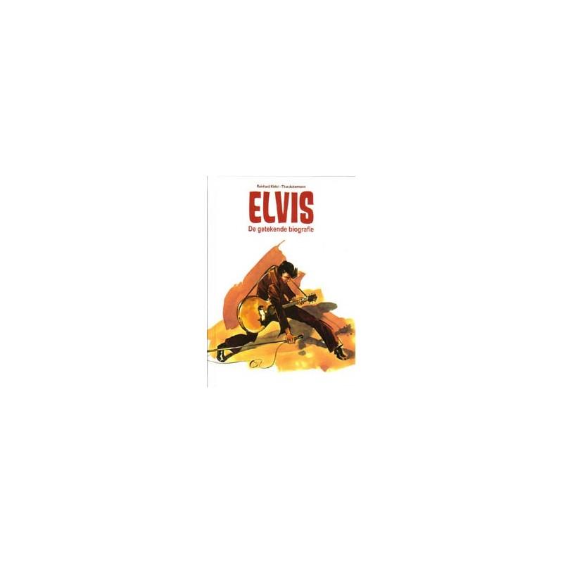 Kleist strips HC Elvis De getekende biografie