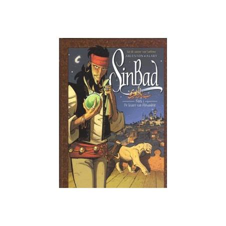 Sinbad setje HC deel 1 t/m 3 1e drukken 2008-2010